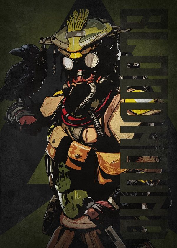 """Apex Legends Colourful Characters Bloodhound #Displate explore Pinterest""""> #Displate artwork by artist """"Beegeedoubleyou"""". Part… 