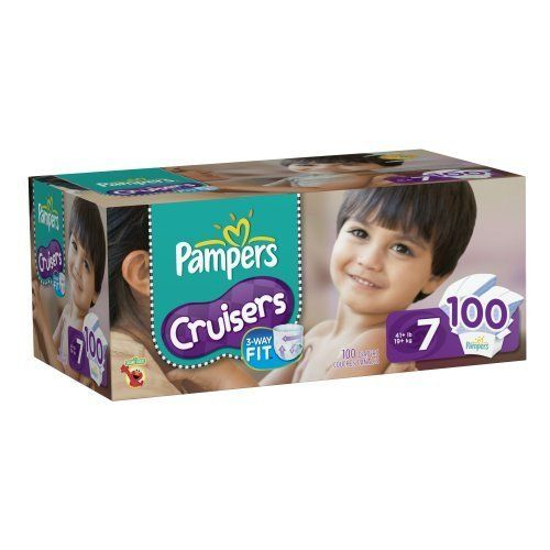100 Count Pampers Cruisers Size 7 #diapercoupons