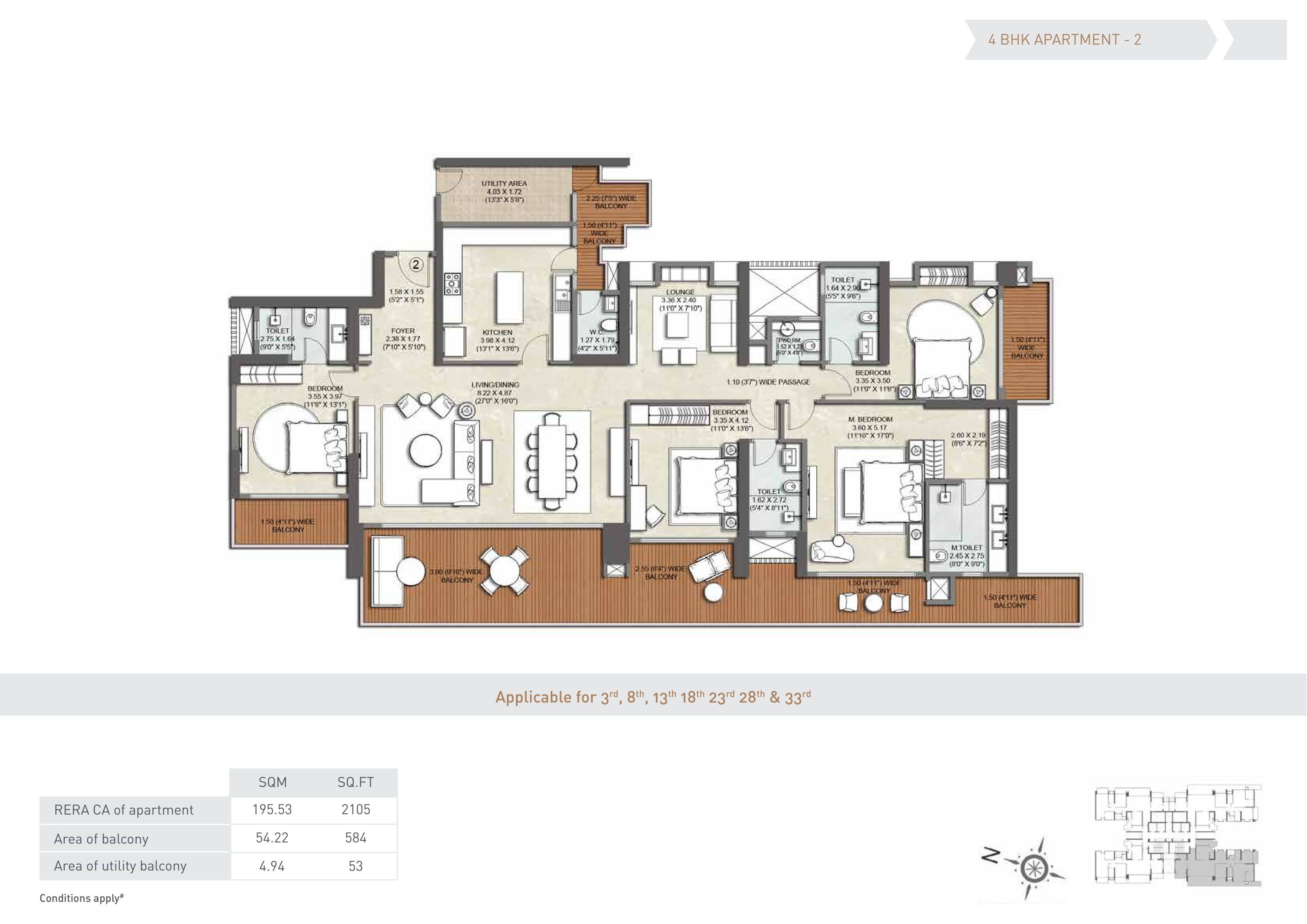 Kalpataru Vista Floor Plan Floor Plans Flooring How To Plan
