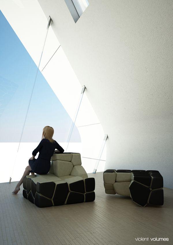 The Vuzzle Chair by Christopher Daniel