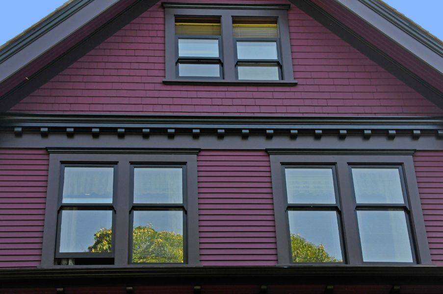Exterior Heritage House Colours For Vancouver Purple