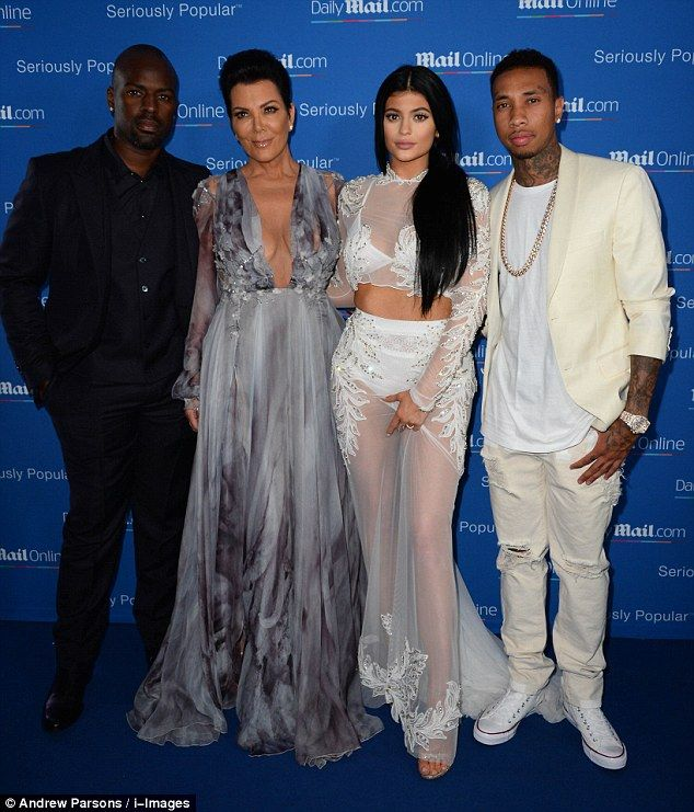 cdc70a074d85 Kylie Jenner showed up for MailOnline s yacht party in Cannes on Wednesday  evening