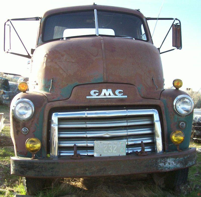 1950 Gmc Ff 350 Coe Cab Over Engine 2 Ton Truck Gmc Trucks