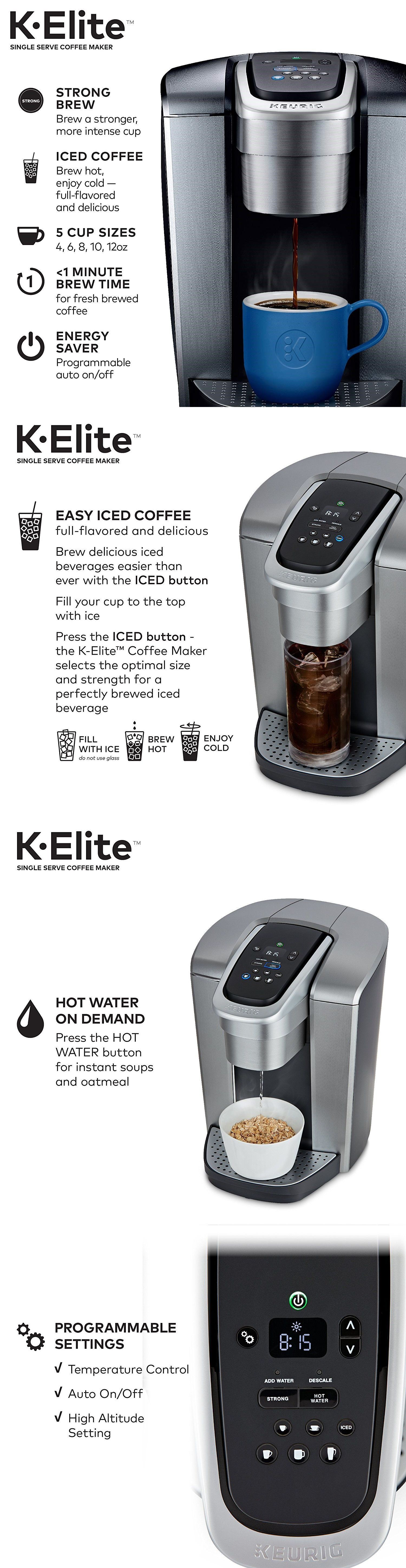 Filter coffee machines 184665 keurig kelite brand new