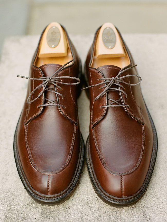 43c3def1449 Alden Mocc Toe Blucher | Stuff to Buy | Shoes, Oxford shoes, Dress shoes