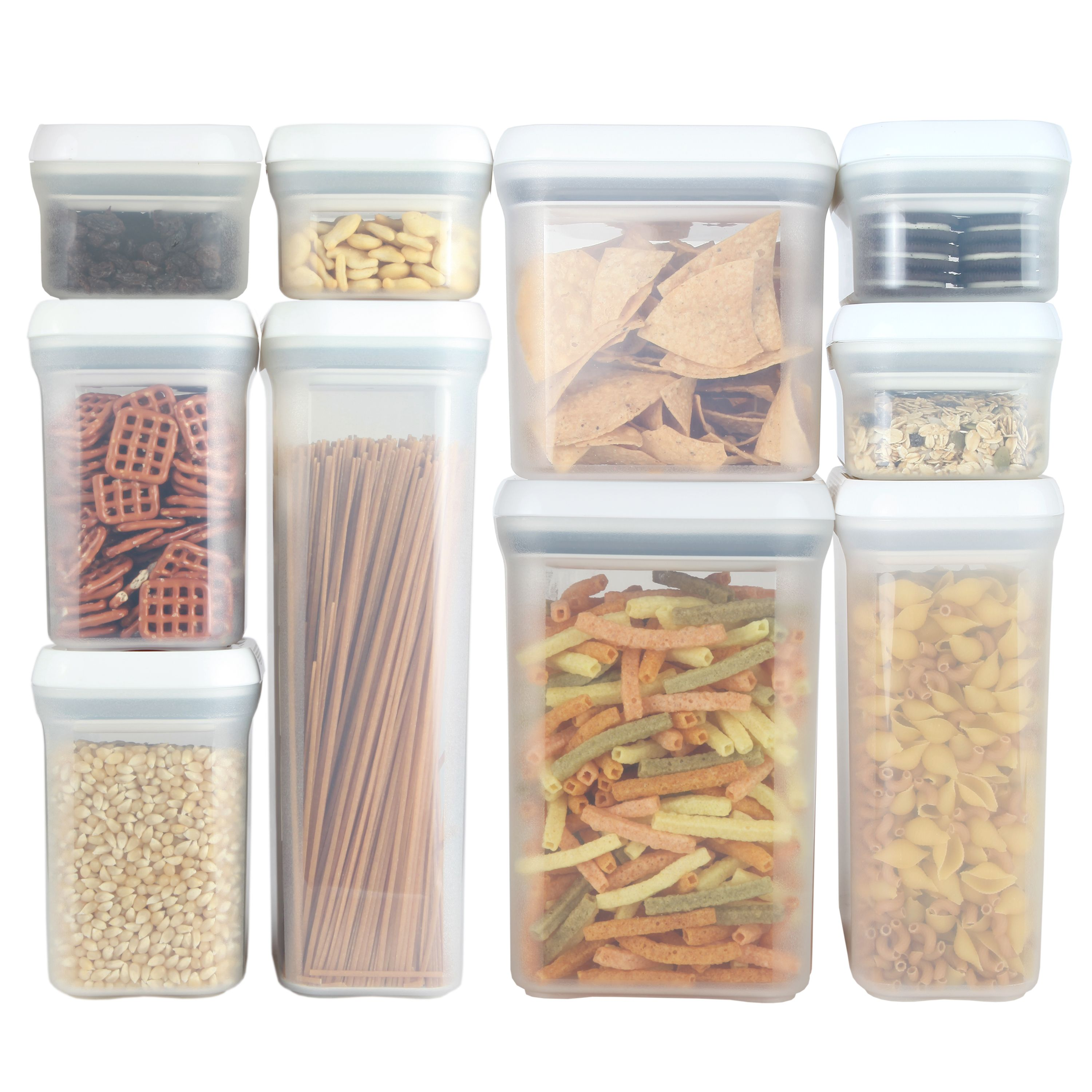 PERSIK Premium *SPIN & LOCK* Airtight Sealed Containers for Food and ...