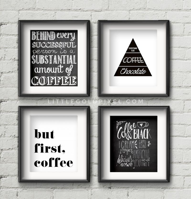 Coffee Wall Art 20 kitchen free printables • wall art roundup | kitchen wall art