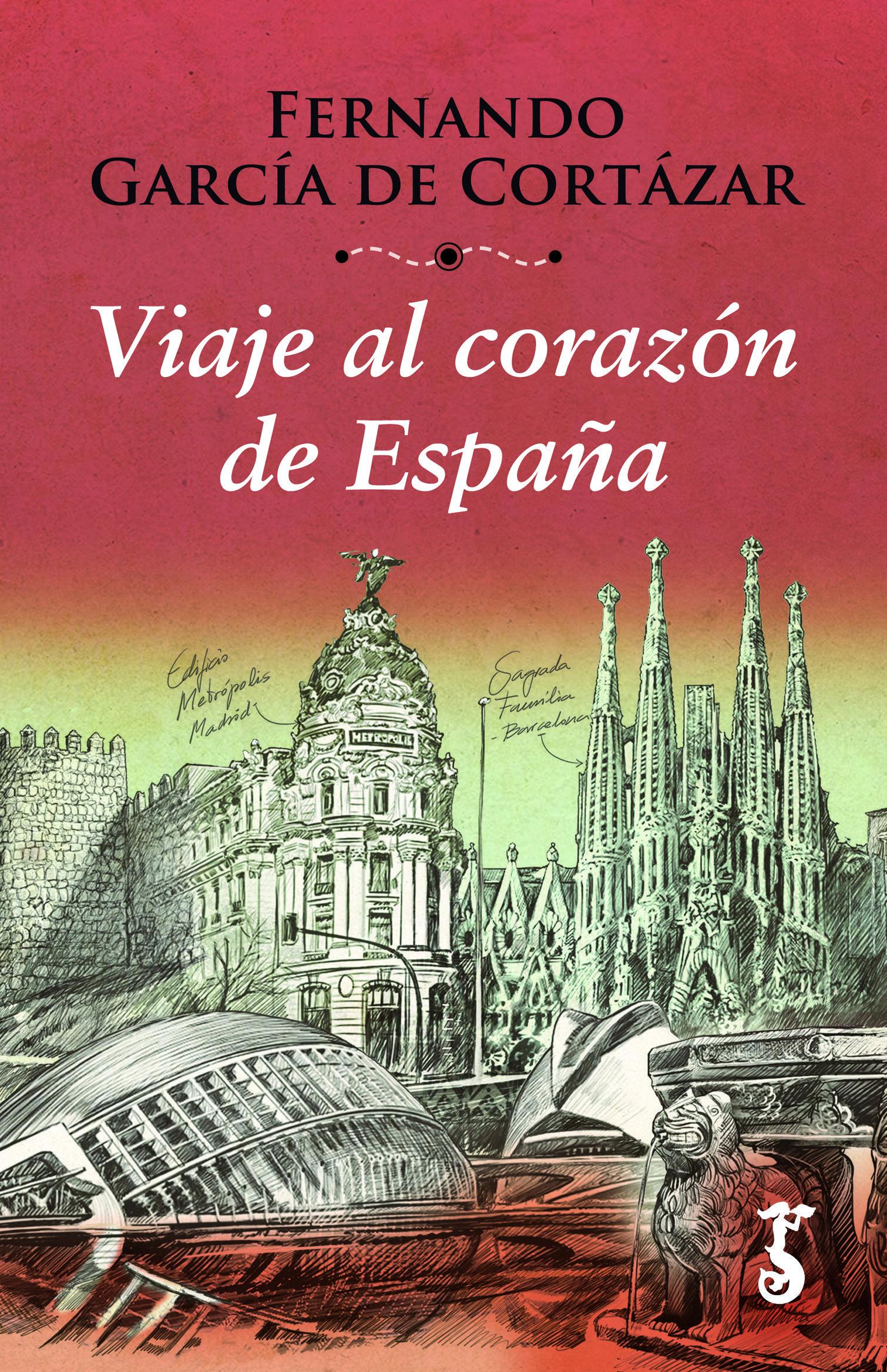 Fernando García de Cortázar, con un enorme bagaje como historiador y  viajero por España,