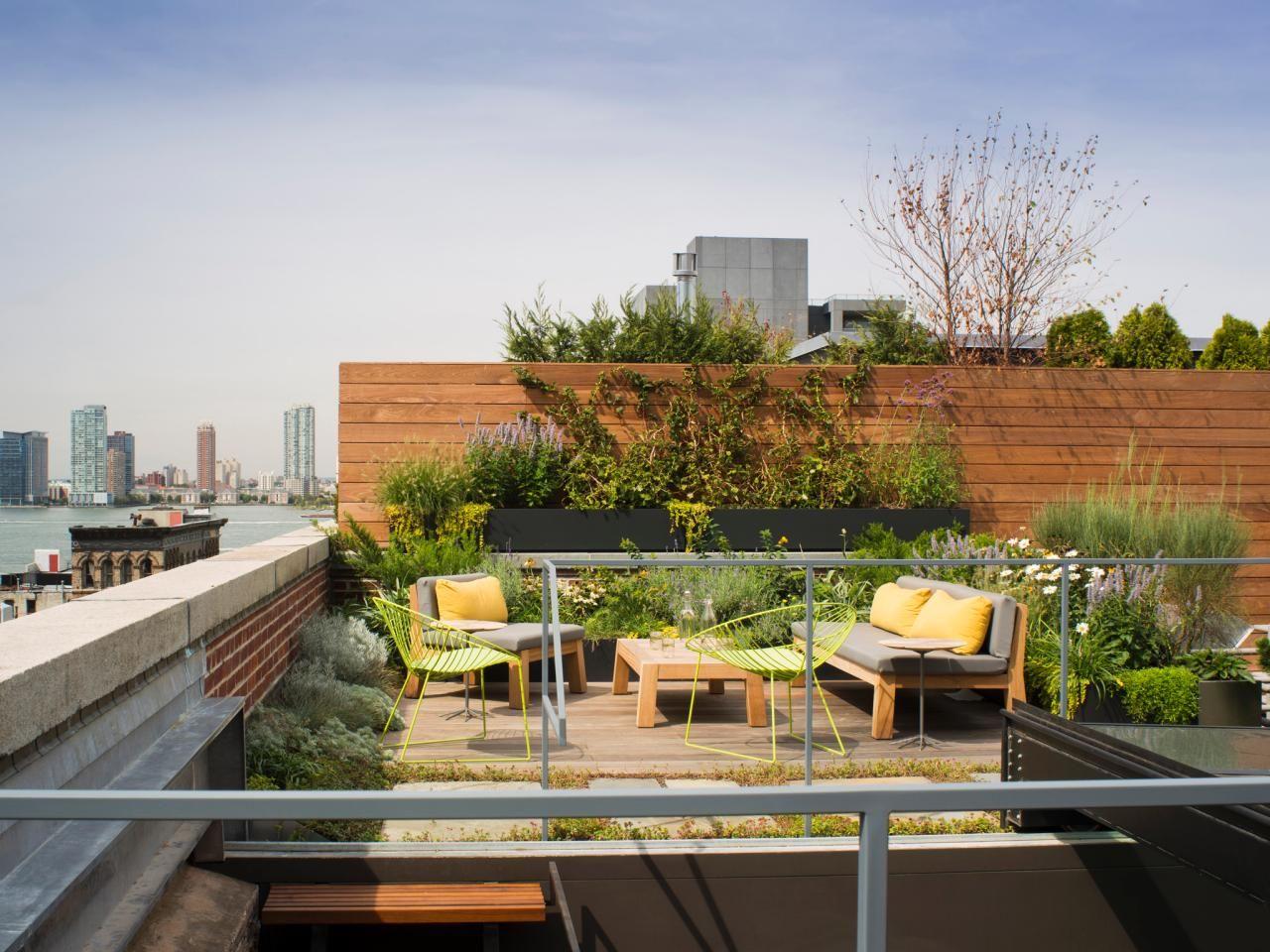 Urban Rooftop Deck Garden Rooftop Terrace Design Rooftop Patio Patio Landscaping