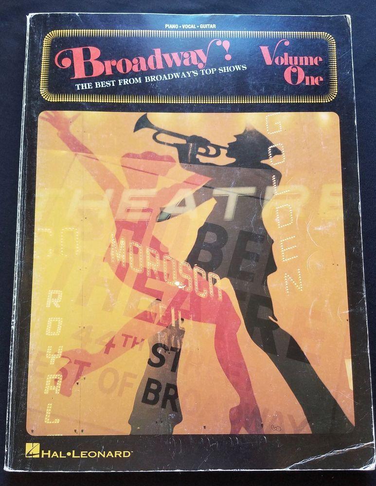 Broadway! Volume 1 1981 Vintage Show Tunes Music Book