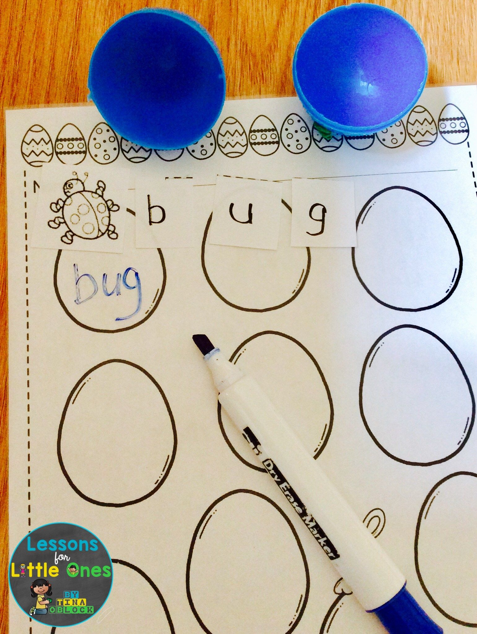 Math Amp Literacy Activities With Plastic Easter Eggs Plus