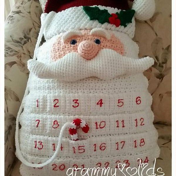 25 DIY Christmas Countdown Calendar Ideas and Tutorials 2018
