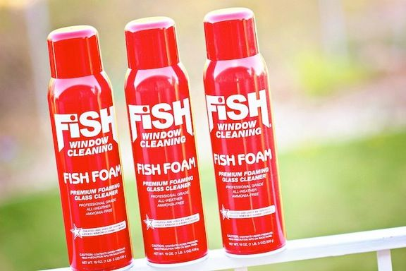 3 Cans Fish Foam Can At Lowes Great Window Cleaner