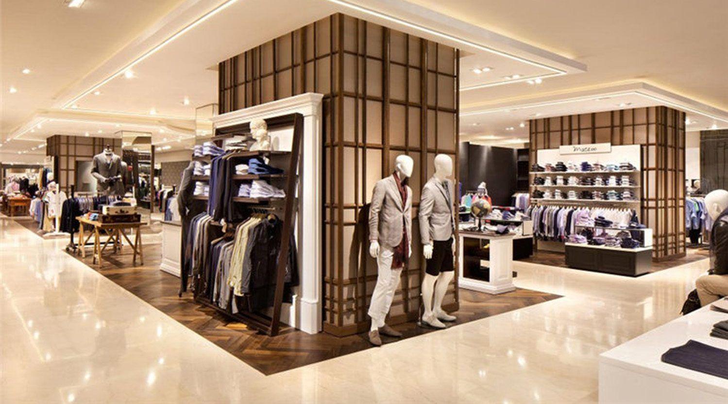Custom Boutique Men Clothing Store Design Retail Fashion Menswear Shop Interior Design I Store Design Interior Retail Interior Design Showroom Interior Design