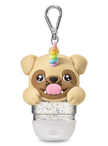 Bath Body Works Pugicorn Light Up Pocketbac Holder Hand