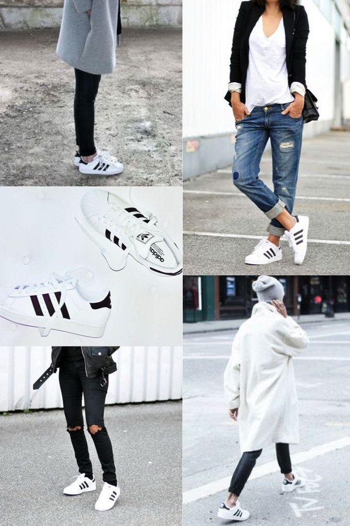 Was zu tragen Adidas Trainer und Turnschuhe | frauen mode