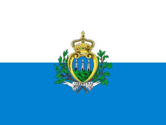 Bandera De San Marinopaissan Marinocapitalciudad De San
