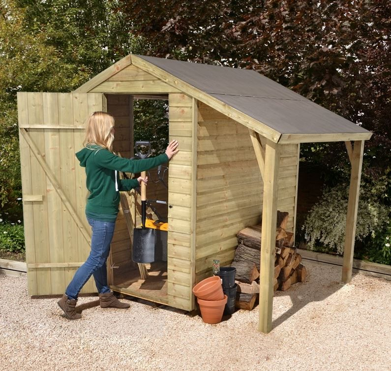 wooden garden sheds who has the best 6x4 shedlean to - Garden Sheds With Lean To