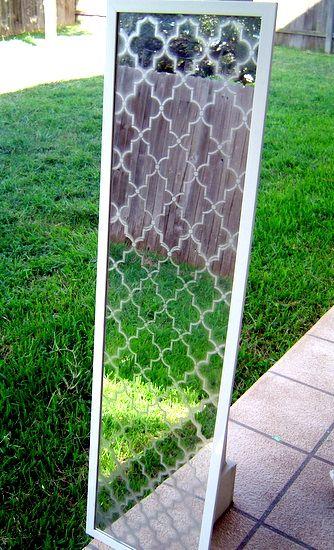 Ballard Mirror Knockoff Spegel Speglar Renovering