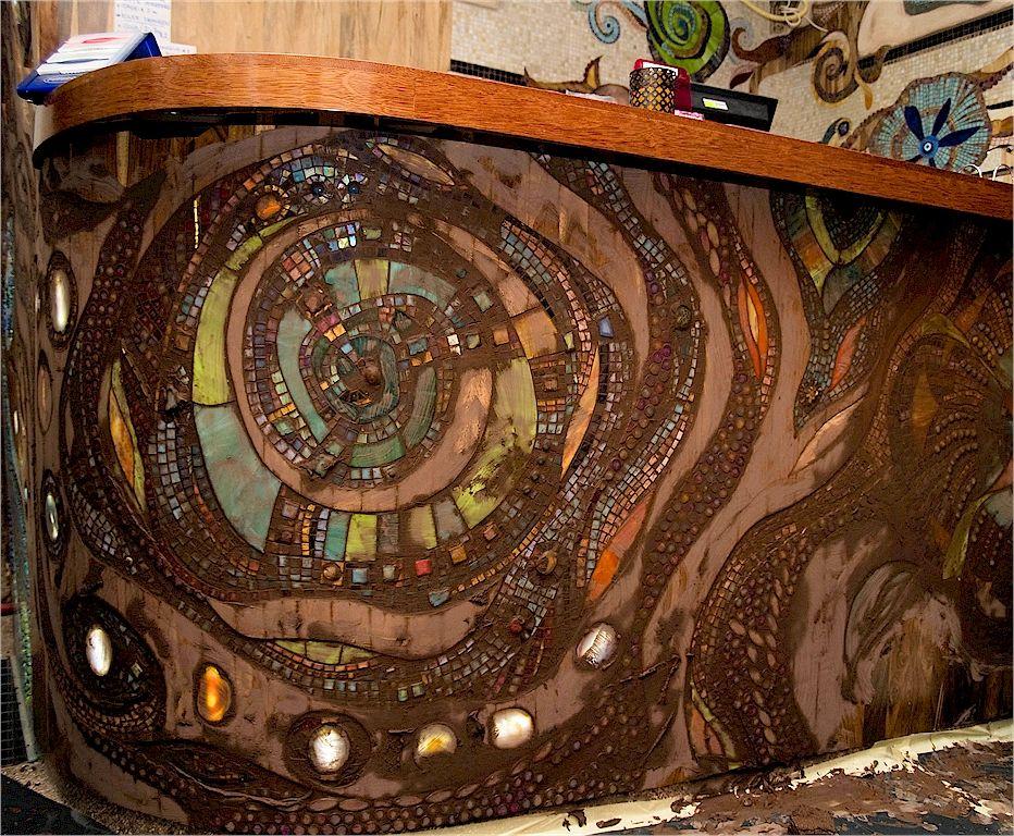 Mozaiekwerk Op Locatie Abraxas Too Mosaic Tile Art Mosaic