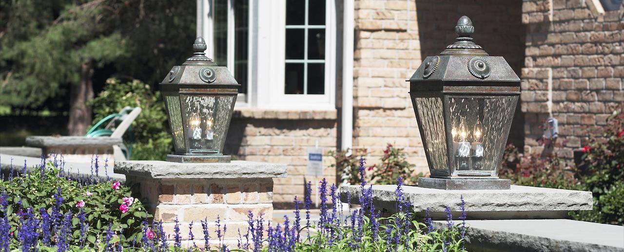 Cast stone light column cap cambridge finishing touches cast stone light column cap mozeypictures Choice Image