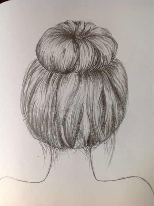 Hair drawing@@@ | Pure Art City in 2019 | How to draw hair ...