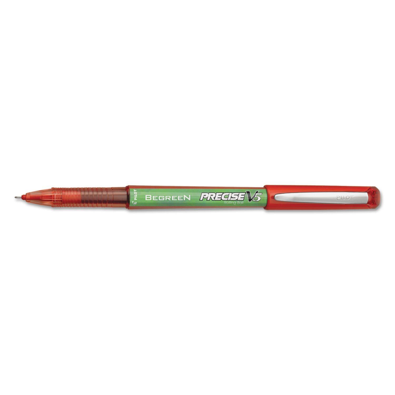 Pilot Precise V5 BeGreen Roller Ball Stick Pen Ink .5mm Dozen