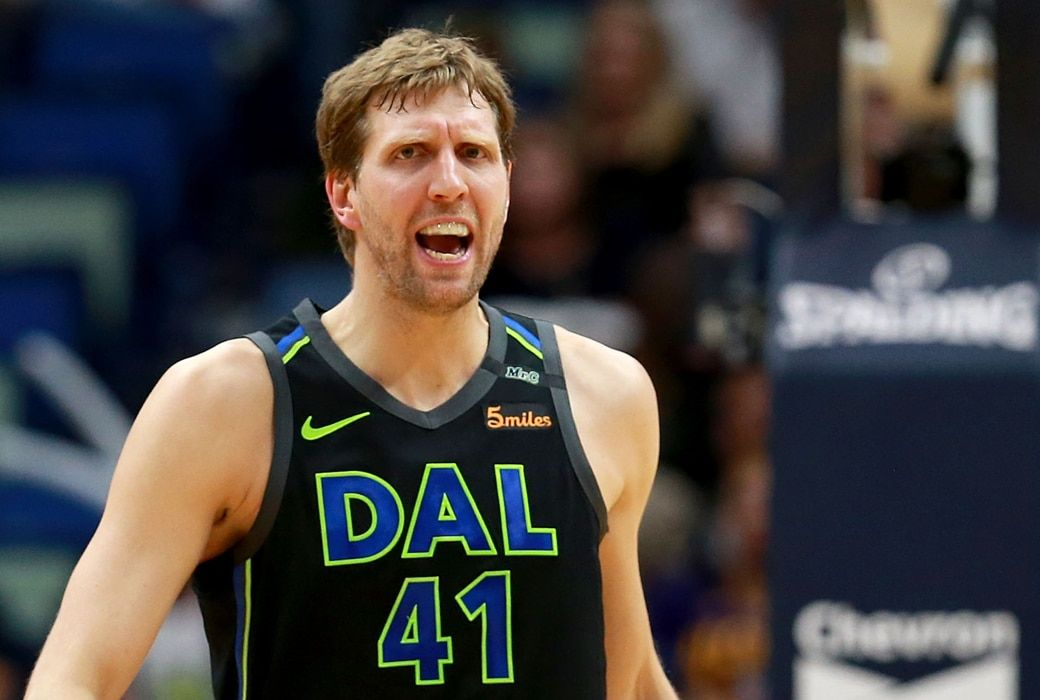 Dirk Nowitzki Is One Of The Very Famous And Most Trending Personality Now A Days Moreover He Is Famous As In 2020 Basketball Players Handball Players Basketball News