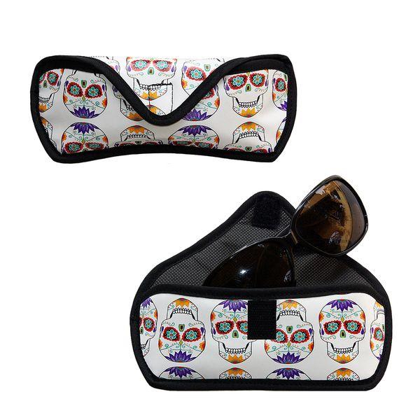 Funda gafas Aretha Calaveras Mejicanas de Arethaju por DaWanda.com