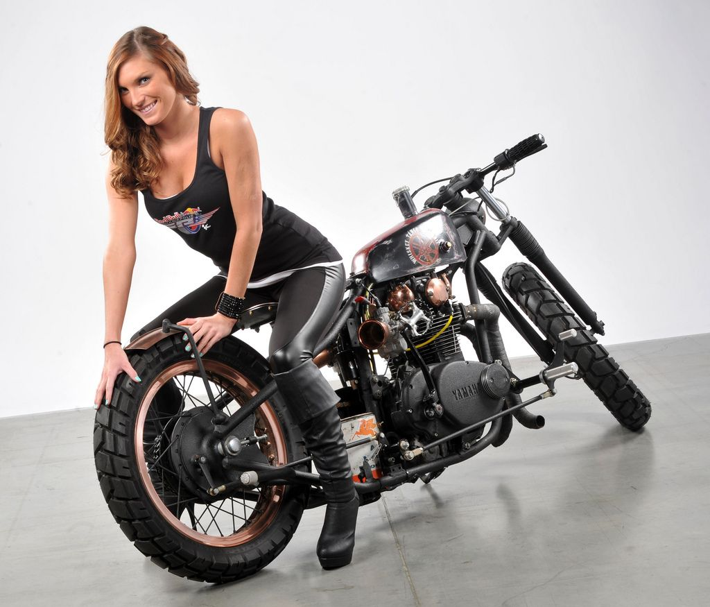 This bike is heading to the Horse Backstreet Chopper Magazine  | The