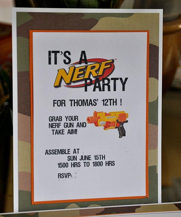 25+ Unique Nerf Party Ideas Games Ideas On Pinterest