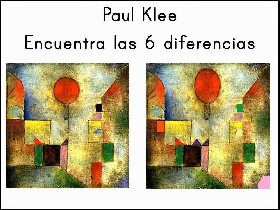 Pintores famosos paul klee para ni os cuadros para - Cuadros decorativos para ninos ...