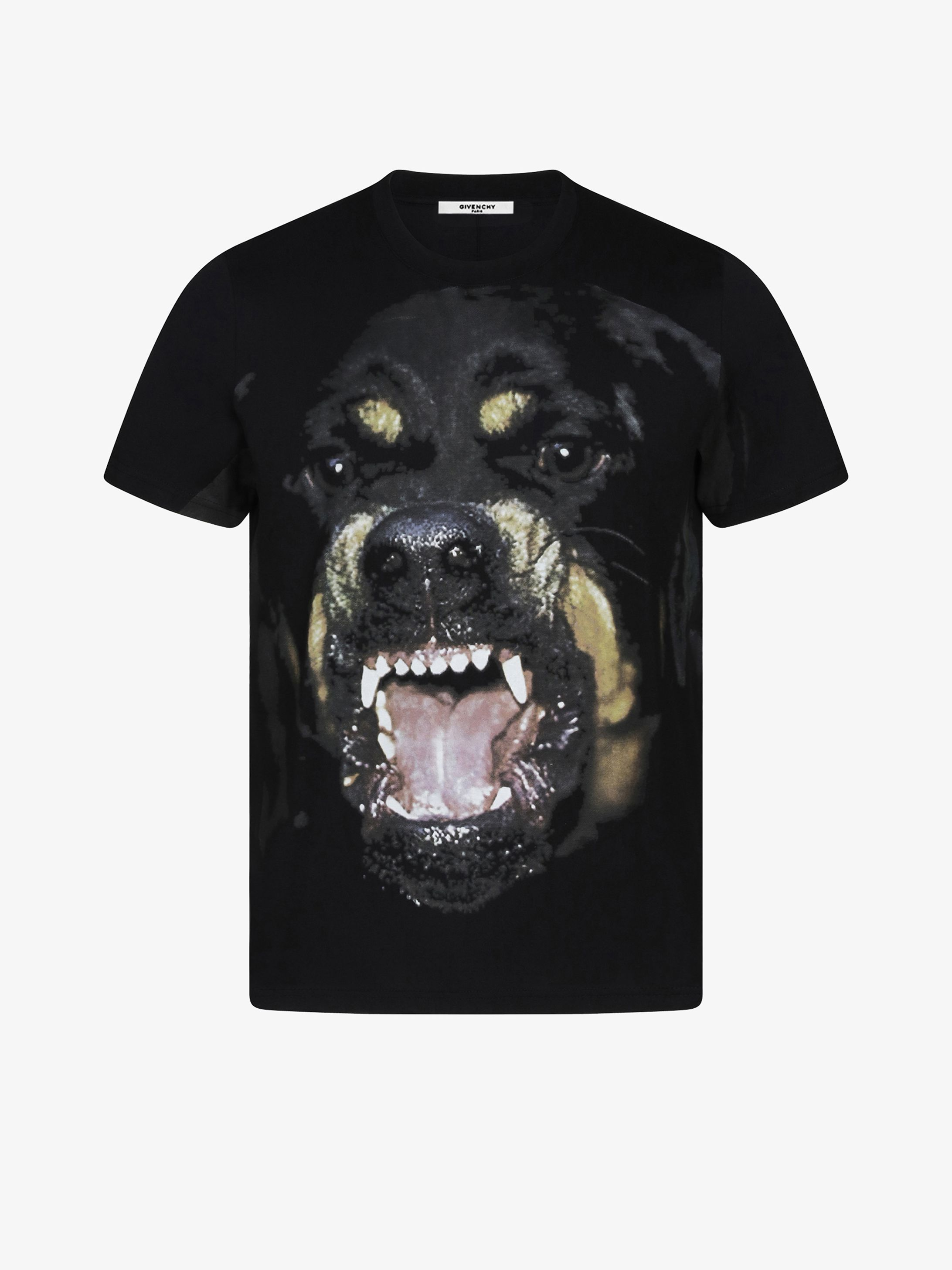 9d3a434d42 GIVENCHY Dog print T-shirt found on Polyvore