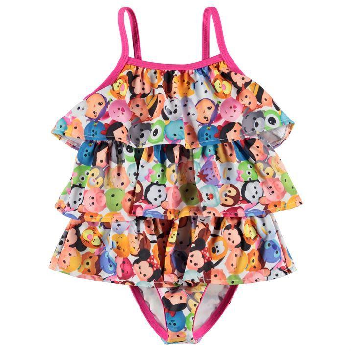 Disney Tsum Tsum Girl/'s Skater Dress