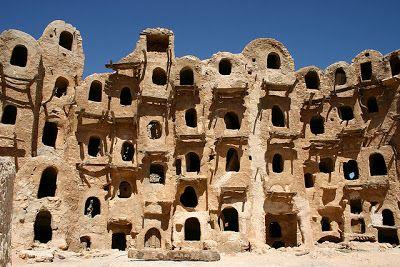 Ciudad vieja de Ghadames Libia.