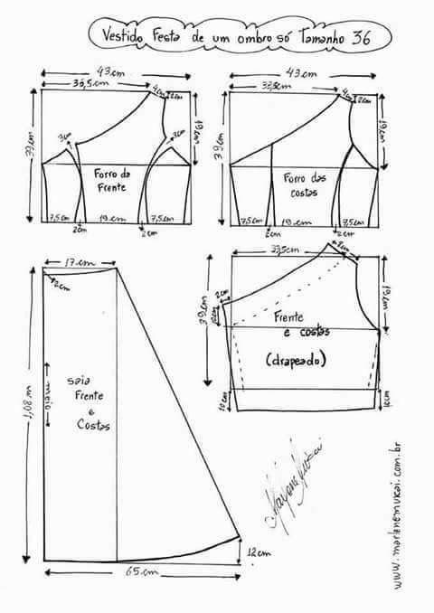 Pin de Martha Beltran en Modas | Pinterest | Costura, Vestidos y ...