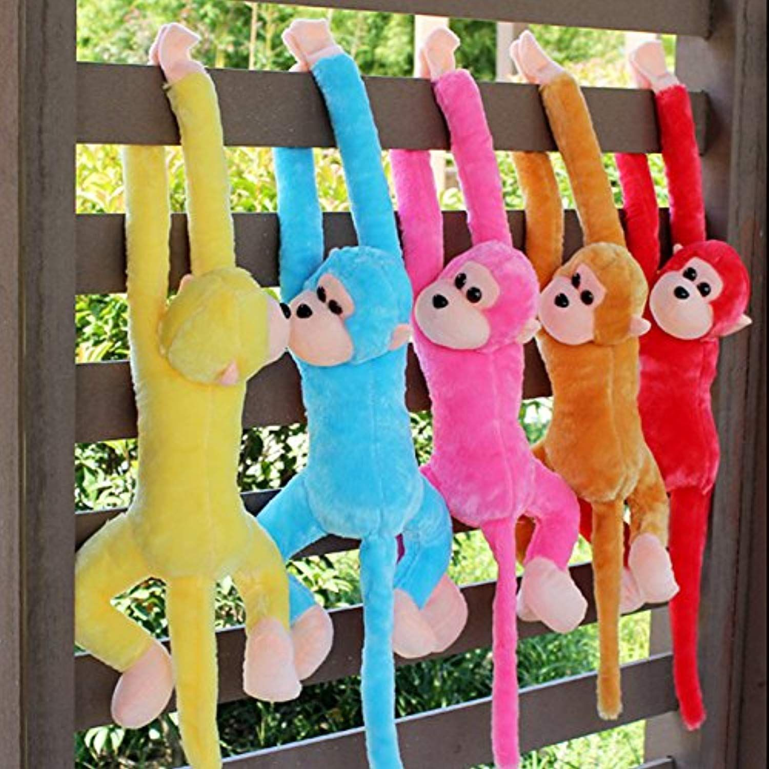 Bw Plush Stuffed Long Arm Monkey Zoo Animals With Velcro Paws Christmas Gift More Info Could Be Found Soft Toy Animals Monkey Stuffed Animal Monkey Plush Toy [ 1500 x 1500 Pixel ]