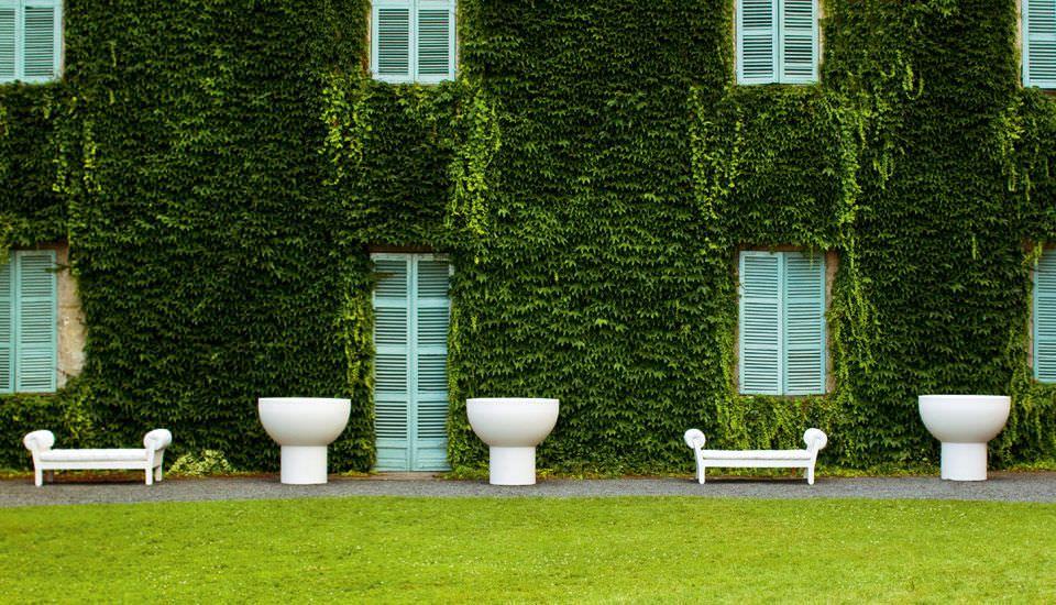 Photo of SPRING – Vaso da giardino in plastica / di eero aarnio di SERRALUNGA   ArchiExpo