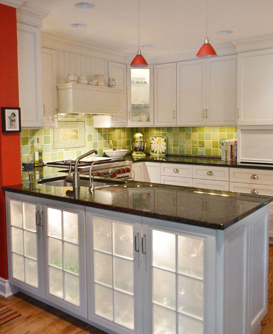 Cookbook Author Carla Snyder's Warm Red & Green Kitchen