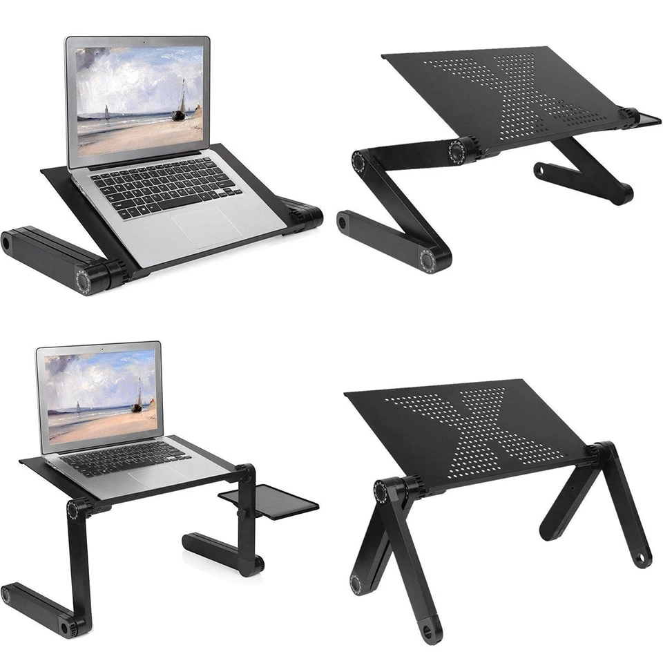 Aluminum Adjustable Laptop Desk in 2020 Laptop desk