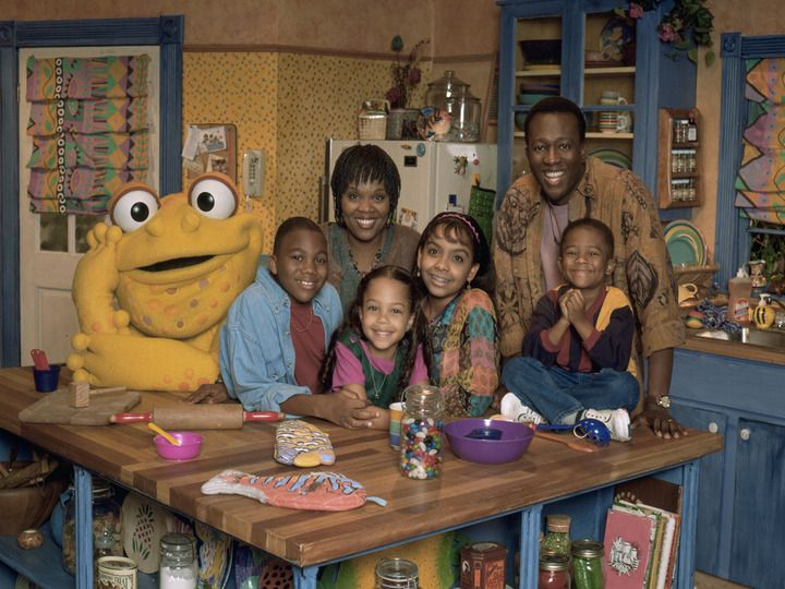 Gullah Gullah Island.  (I can't remember what this was about but I remember watching it! I remember that frog!