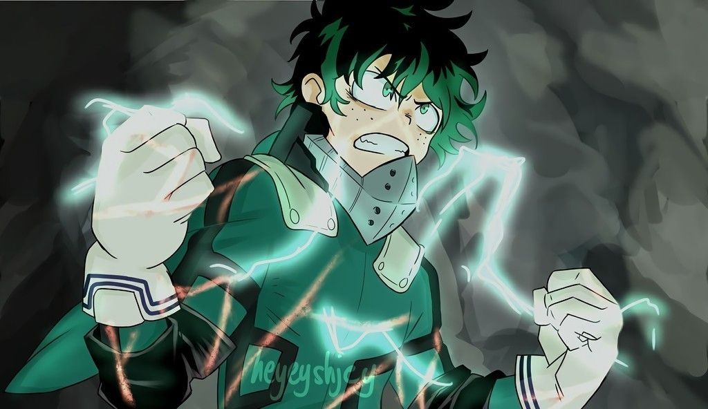 Angry Izuku Midoriya Green Hair My Hero Academia Wallpaper Hero Wallpaper Boku No Hero Academia Hero