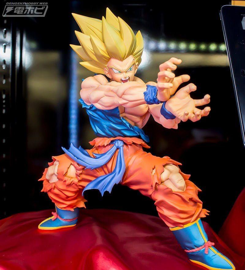 Goku Ssaiyanjin Kamehameha Figuras De Goku Figuras De Anime Figuras De Accion