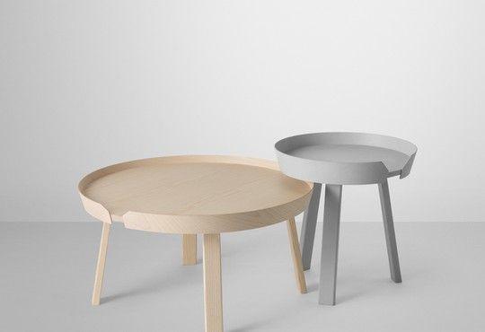 Muuto Round Coffee Table Around Thomas Bentzen Kaffebord