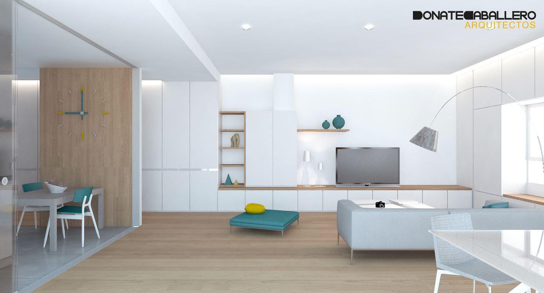 Cocina salon moderno decoracion via planreforma - Armario de salon ...