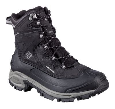Columbia Bugaboot II Waterproof Insulated Pac Boots for Ladies - Black/Quarry - 7.5 M