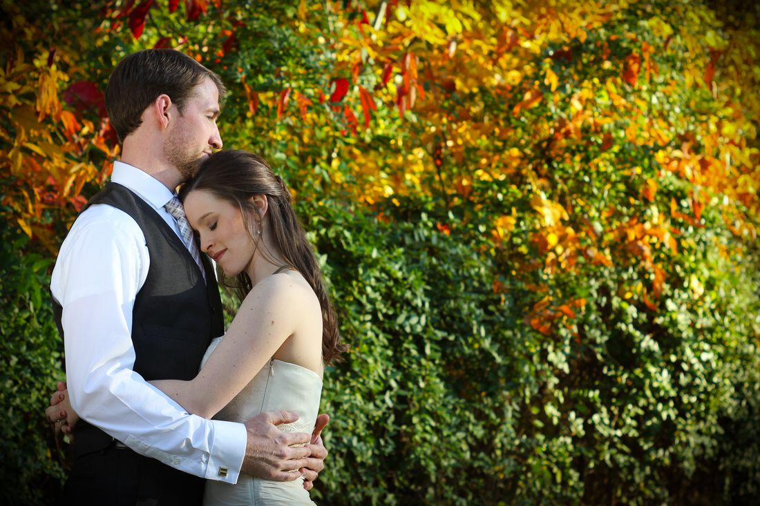 Jacob and Leah #October #wedding #fall #leaves Readylight #Photography #Nashville @Leah Dennison
