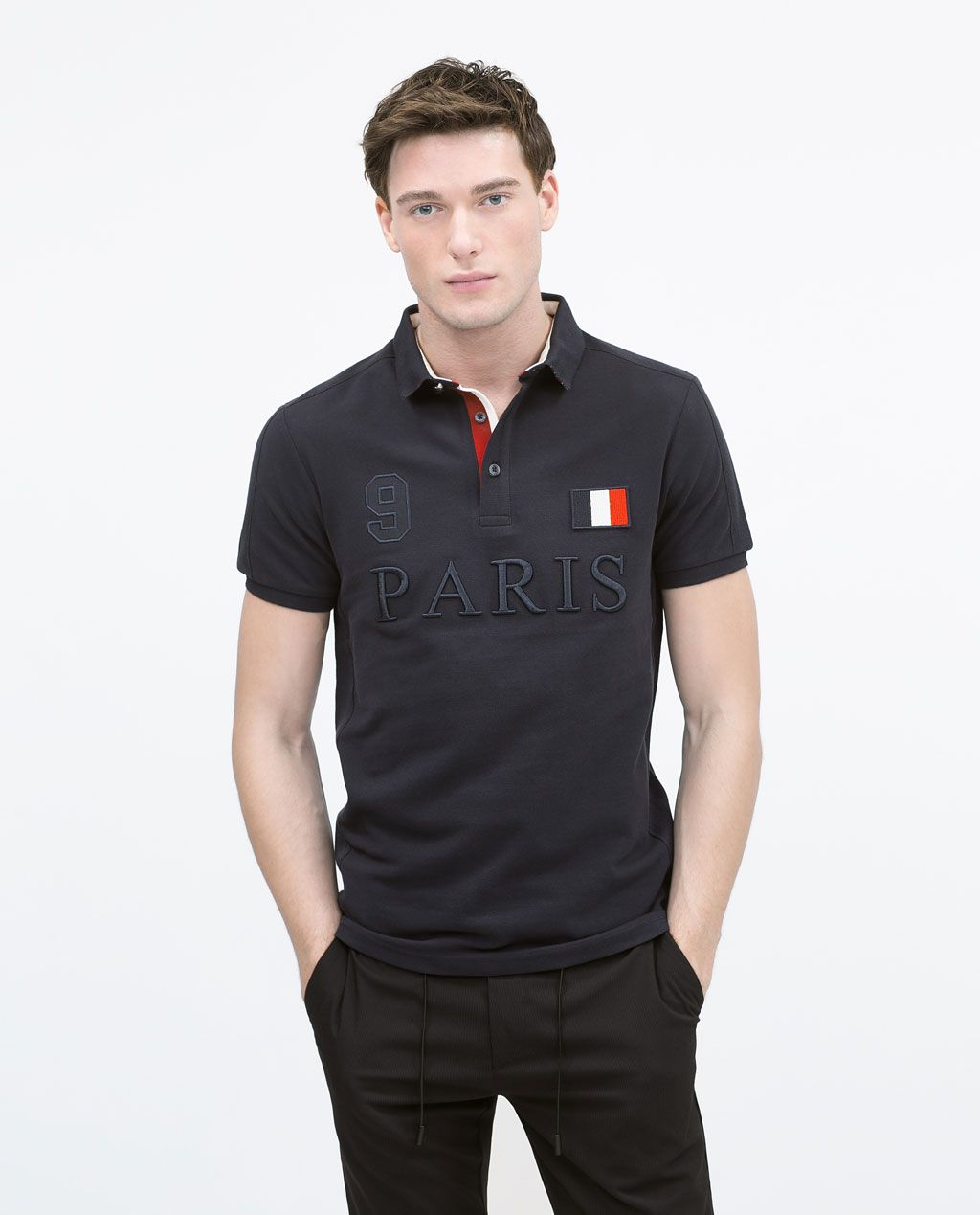 d8bf1ce23c9 Piqué polo shirt-Polos-MAN
