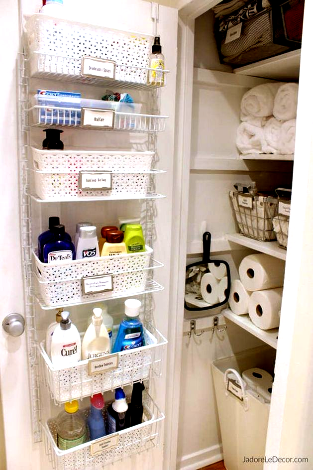 17+ Nizza Badezimmer Organisation Design-Ideen -   # #smallb | bth