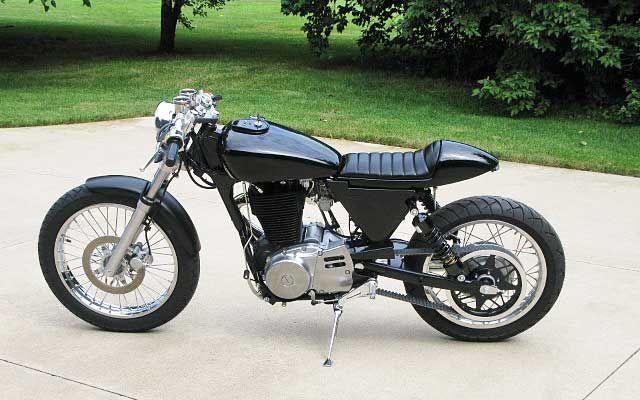 Suzuki ls 650 savage + kit Ryca // cafe racer plug & play